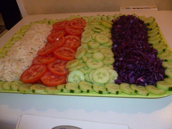 Salade de crudites ma belle for Entree crudite originale